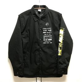 【messa store】Logotypeコーチジャケット