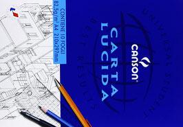 canson blocco 10 fogli carta lucida 82,5gr/m2 formato a4 210x297