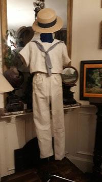 Costume marin petit garçon taille 8 ans