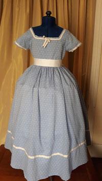 robe petite fille modèle : les Malheurs de Sophie . coton taille 8ans