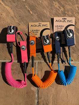 "Aqua Inc ""Coil Leash 8"""