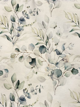 !NEU! Single Jersey – Eukalyptus Bouquet