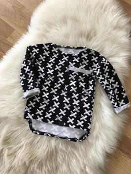 Oversize Pullover mit verlängertem Rücken