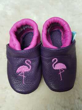 Footies mit Flamingo