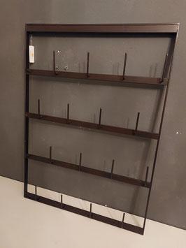 stoer flessenrek of porte bouteille voor aan de muur, afmetingen 68 x 49 cm, prijs per stuk