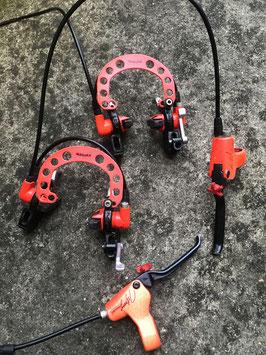 freins hydraulique magura hs22 johnny t edition