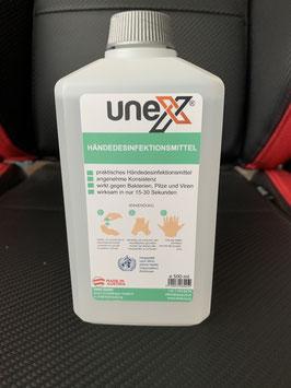 UNEX Händedesinfektionsmittel 500ml MADE IN AUSTRIA