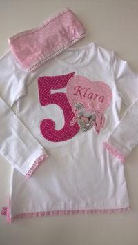 "Geburtstags-Shirt ""Klara"""