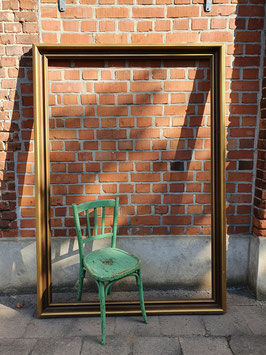 Riesiger Bilderrahmen Spiegel Rahmen antik Nr 1810