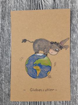 Plottdatei Esel Carlos der Globetrotter