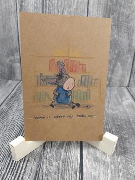 Plottdatei Esel Carlos der Bücherwurm