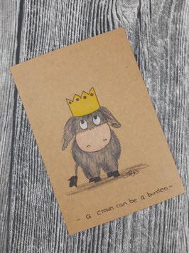 Plottdatei Esel Carlos der König