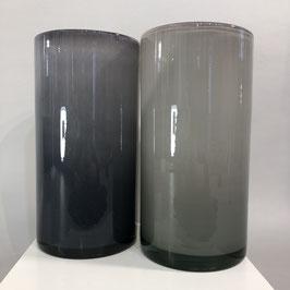 Hochwertige Glasvase/2 Töne