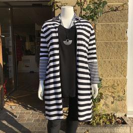 Schwarz-weiße Jacke von Vincenzo Allocca