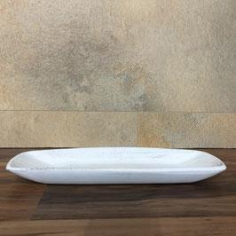 Deko Holz Tablett weiß