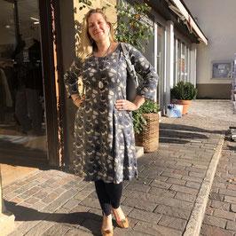 Graues Kleid mit Print von Adini