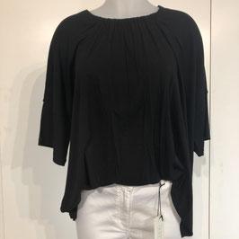 Masai Shirt Kurzarm in Schwarz