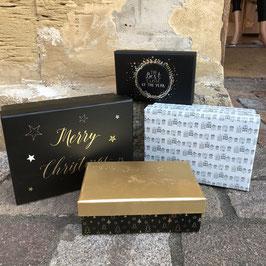 Geschenkboxen Weihnachten in 4 Varianten