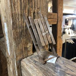 Deko-Holzschlitten