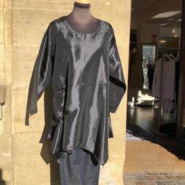 Tunika schwarz glänzend von LaBass