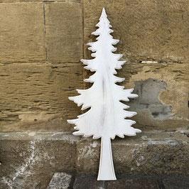 Weißer Tannenbaum, leicht glitzernd