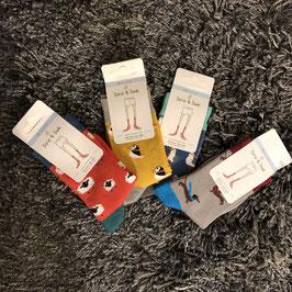 Kinder-Socken mit verschiedenen Motiven