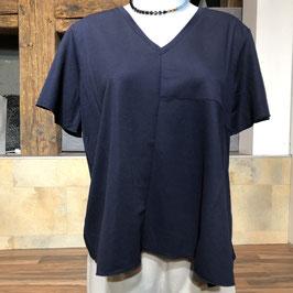 Hochwertiges Kurzarm-Shirt in Blau