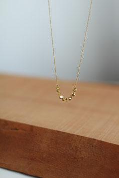 Kugelkette mit facettierten Perlen