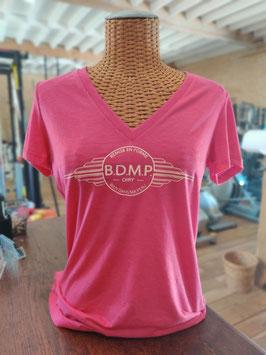 """T-shirt femme col V Gamme """"Fitness Farm"""" ou """"Original"""""""