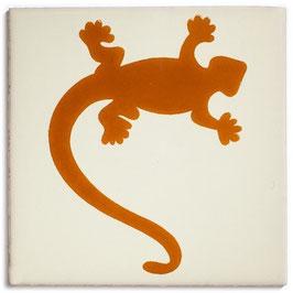 OC Gecko Terracotta - 11x11 cm - Mexiko Fliese