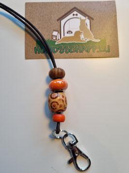 Pfeifenband Holz/orange