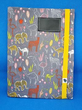 Couverture de cahier savane