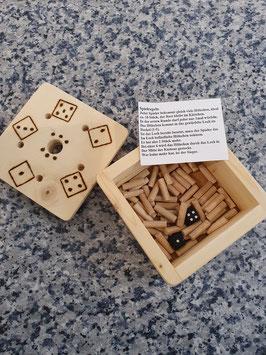 Holz-Würfelspiel