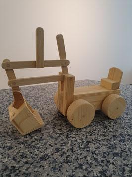 Holz-Bagger