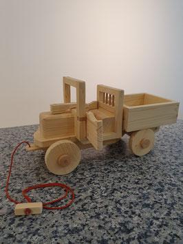 Holz-LKW zum Ziehen