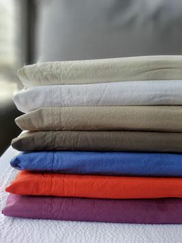 jogo lençóis percal 200 fios 100% algodão pré lavado