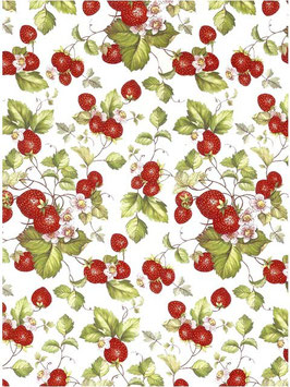 STRAWBERRY CHINTZ CLEAR