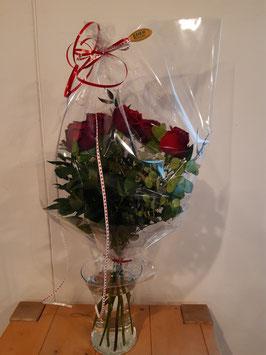 """Blumenstrauß """"5St. rote Rosen"""""""