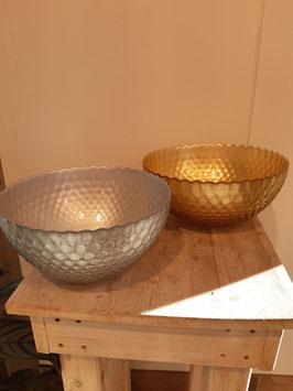 Glasschale gold und silber Nr.29