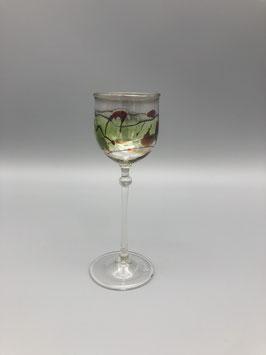Mini glass in brown/green