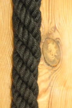 Absperrseil, schwarz,  Ø28 mm
