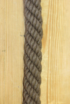 Absperrseil, braun,  Ø28 mm