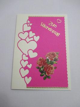 Grußkarte zum Valentinstag 2