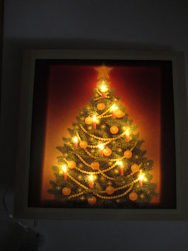 Lichtkarte Tannenbaum