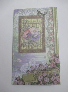 Grußkarte Glitter 12