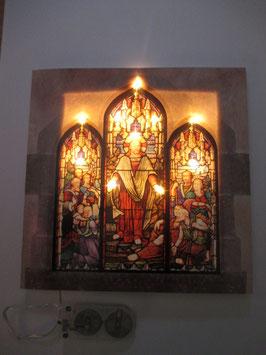 Lichtkarte Kirchenfenster
