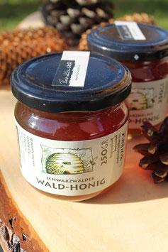 Wald Honig aus dem Schwarzwald - 500g. Glas oder 250g. Glas - kräftig, herb, würzig