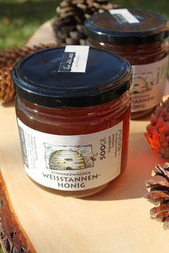 Weißtannen Honig aus dem Schwarzwald - 500 g. Glas oder 250g. Glas - intensiv malziger Geschmack