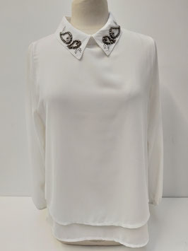 Blouse doorschijn