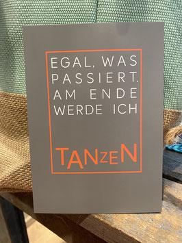 Postkarte Tanzen